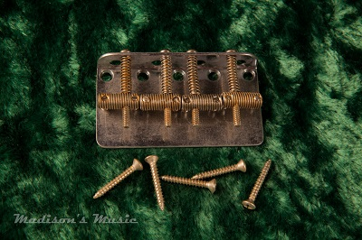 60's Era AGED Knurled Bass Bridge